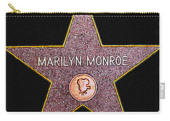 Marilyn Monroe's Star Painting  Carry-all Pouch