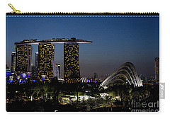 Marina Bay Skyline Carry-all Pouch