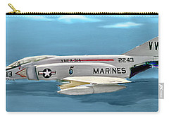 Marine F-4 Phantom  Painting Carry-all Pouch
