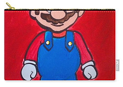 Mario Carry-all Pouch by Marisela Mungia