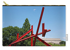 Mark Di Suvero Steel Beam Sculpture Carry-all Pouch