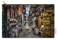 Market In The Old City Of Jerusalem Carry-all Pouch