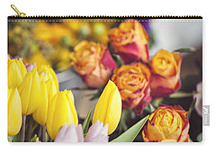 Market Tulips - Paris, France Carry-all Pouch