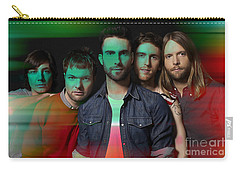 Maroon 5 Painting Carry-all Pouch by Marvin Blaine