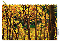 Maroon Lake Gold Carry-all Pouch