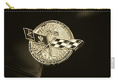 Carry-all Pouch featuring the photograph Marque 25th Anniversary Corvette  by John Schneider