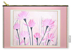 Marsh Flowers Carry-all Pouch