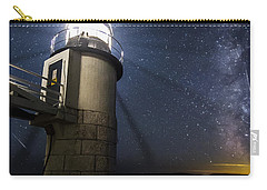 Marshall Lighthouse And The Night Sky Carry-all Pouch
