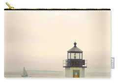 Marshall Point Lighthouse In Maine Carry-all Pouch by Denyse Duhaime