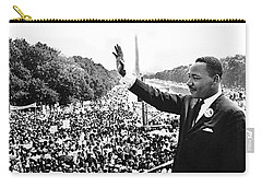 Martin Luther King The Great March On Washington Lincoln Memorial August 28 1963-2014 Carry-all Pouch by David Lee Guss