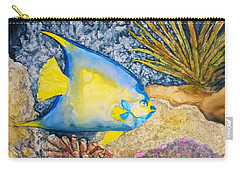 Martinique Angel Carry-all Pouch by Patricia Beebe