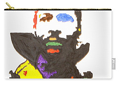 Carry-all Pouch featuring the painting Marvin Gaye by Stormm Bradshaw