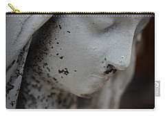 Mary In The Garden Carry-all Pouch by Lynn Sprowl