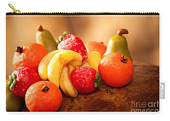 Marzipan Fruits Carry-all Pouch by Amanda Elwell