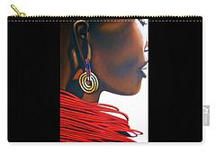 Masai Bride - Original Artwork Carry-all Pouch