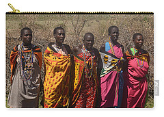 Masai Women Chorus Carry-all Pouch