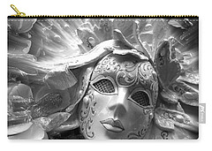 Masked Angel Carry-all Pouch by Amanda Eberly-Kudamik