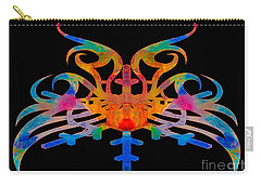 Masking Reality Abstract Shapes Artwork Carry-all Pouch