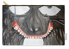 Carry-all Pouch featuring the painting Masquera Carcaza  by Lazaro Hurtado