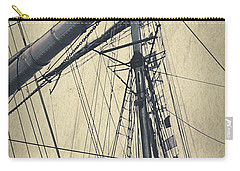 Mast And Rigging Postcard Carry-all Pouch