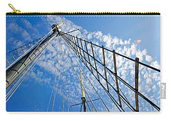 Carry-all Pouch featuring the photograph Masted Sky by Keith Armstrong
