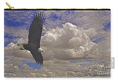 Master In Flight - Signed  Carry-all Pouch