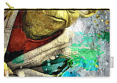 Master Yoda Carry-all Pouch by Daniel Janda