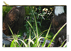 Carry-all Pouch featuring the photograph Mates by Greg Patzer