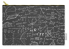 Maths Blackboard Carry-all Pouch