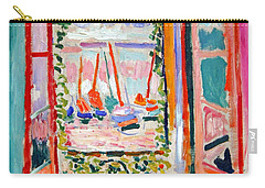 Matisse's Open Window At Collioure Carry-all Pouch
