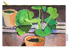 Matisse's Pot Of Geraniums Carry-all Pouch