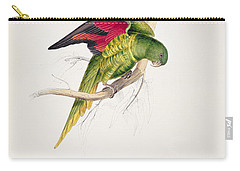 Matons Parakeet Carry-all Pouch by Edward Lear