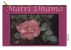 Matri Dhama Design 5 Carry-all Pouch by Bobbee Rickard
