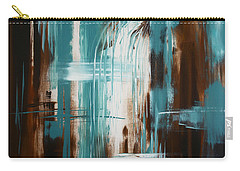 Waterfall In Paradise Carry-all Pouch by Dani Abbott