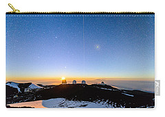 Mauna Kea Moonset 1 Carry-all Pouch