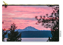 Carry-all Pouch featuring the photograph Mauve Magnificence by Jan Davies