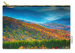 Max Patch Bald Fall Colors Carry-all Pouch