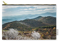 Carry-all Pouch featuring the photograph Max Patch In Appalachian Mountains by Debbie Green