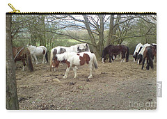 May Hill Ponies 2 Carry-all Pouch