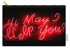 May I Help You Carry-all Pouch by Lynn Sprowl