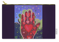 May We Choose Love Carry-all Pouch by Helena Tiainen