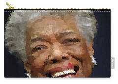 Maya Angelou Portrait Carry-all Pouch
