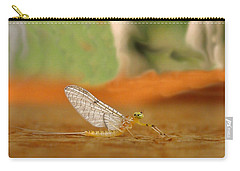 Mayfly Art Carry-all Pouch by Thomas Young