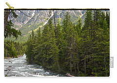 Mcdonald Creek In Glacier Np-mt Carry-all Pouch