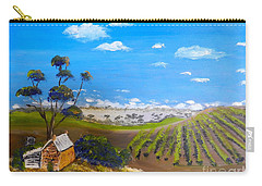 Mclarren Vale Vine Yards Carry-all Pouch by Pamela  Meredith