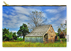 Mclean House Barn 1 Carry-all Pouch by Dan Stone