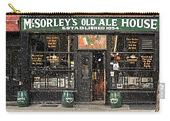 Mcsorley's Old Ale House During A Snow Storm Carry-all Pouch