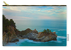 Mcway Falls At Sunrise Carry-all Pouch by Jonathan Nguyen