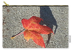 Carry-all Pouch featuring the photograph Me And My Shadow by Caryl J Bohn