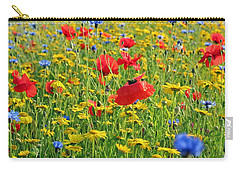 Meadow Flora Carry-all Pouch
